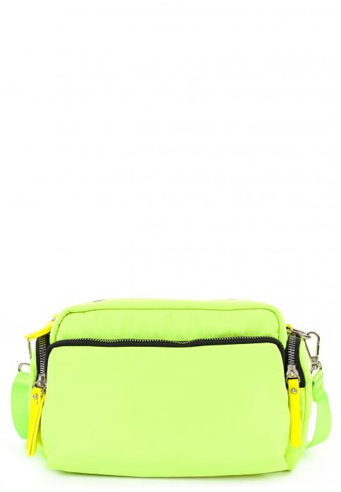 EMILY & NOAH Handtasche mit Reißverschluss Terry groß Special Edition Gelb ML12301411 yellow black 411