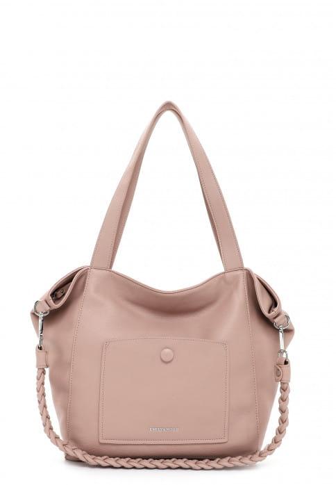 EMILY & NOAH Shopper Fiorella groß Pink 62945651 oldrose 651