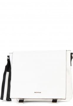 EMILY & NOAH Handtasche mit Überschlag Luna groß Weiß 62263300 white 300