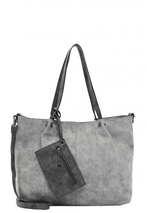 EMILY & NOAH Shopper Bag in Bag Surprise Grau 301808 grey/darkgrey 808