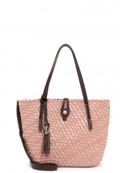 EMILY & NOAH Shopper Elfriede mittel Pink 62901650 rose 650