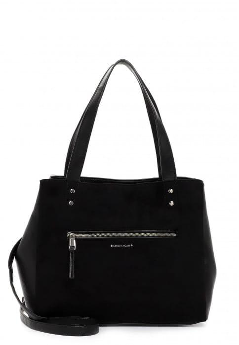 EMILY & NOAH Shopper Fabienne mittel Schwarz 62954100 black 100