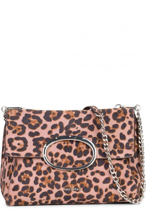 EMILY & NOAH Handtasche mit Überschlag Sarah-Leo Pink 61781651 oldrose 651