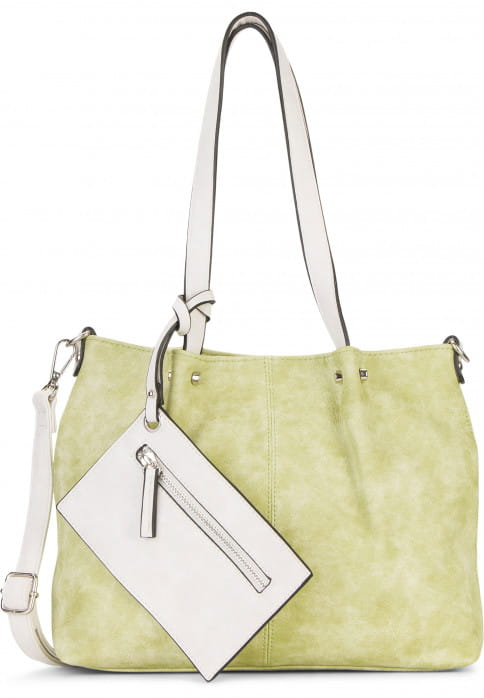 EMILY & NOAH Shopper Bag in Bag Surprise Grün 299933 green/ecru 933