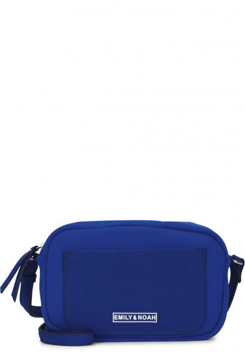EMILY & NOAH Handtasche mit Reißverschluss Lena klein Blau 62071550 royal 550