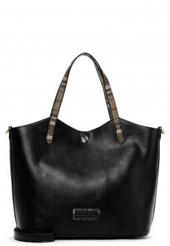 EMILY & NOAH Shopper Desiree mittel Schwarz 62467100 black 100