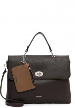 EMILY & NOAH Businesstasche Dora groß Braun 62436209 brown/taupe 209