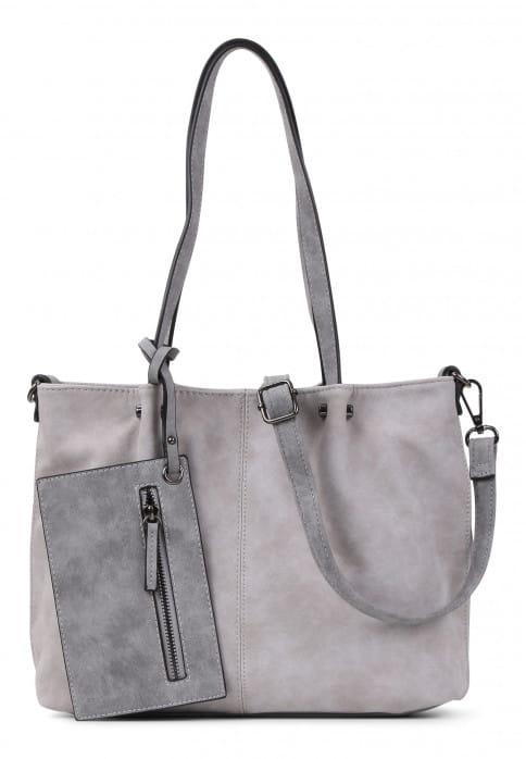 EMILY & NOAH Shopper Bag in Bag Surprise Grau 299838 lightgrey grey 838