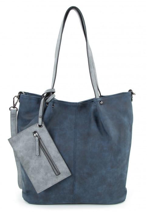 EMILY & NOAH Shopper Bag in Bag Surprise Blau 300508D-1790 blue grey 508