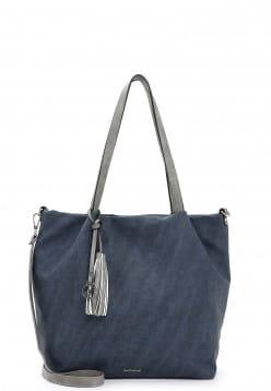 EMILY & NOAH Shopper Elke groß Blau 62792500 blue 500