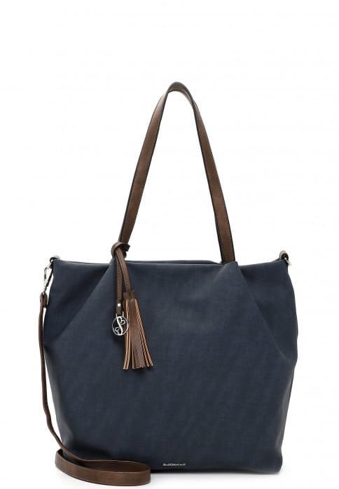 EMILY & NOAH Shopper Elke groß Blau 62792509 blue/taupe 509