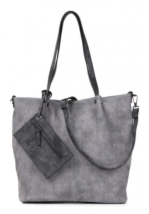 EMILY & NOAH Shopper Bag in Bag Surprise Grau 300808-1790 grey darkgrey 808
