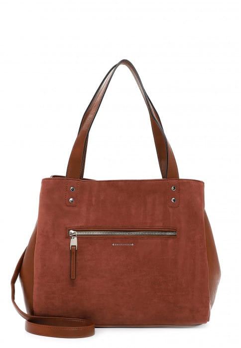 EMILY & NOAH Shopper Fabienne mittel Braun 62954700 cognac 700