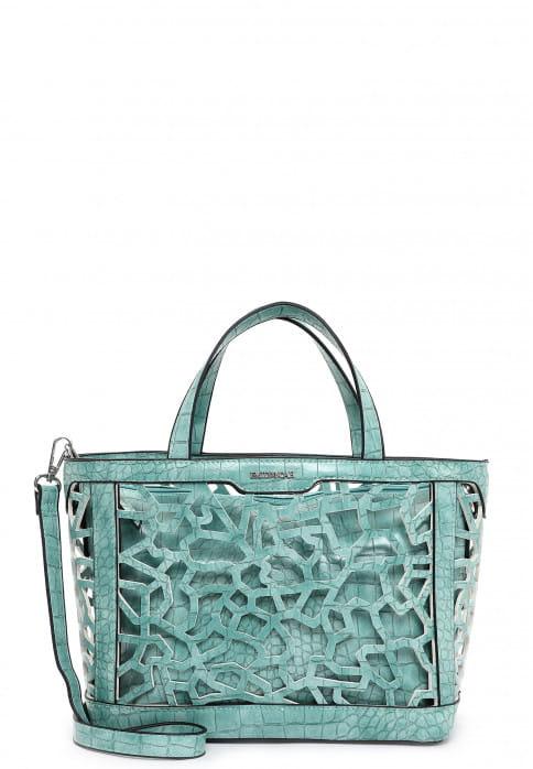 EMILY & NOAH Shopper Edda mittel Blau 62700540 turquoise 540