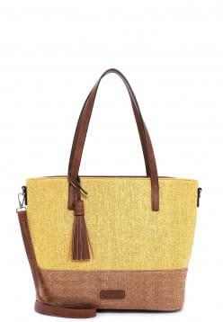 EMILY & NOAH Shopper Elena groß Gelb 62804460 yellow 460