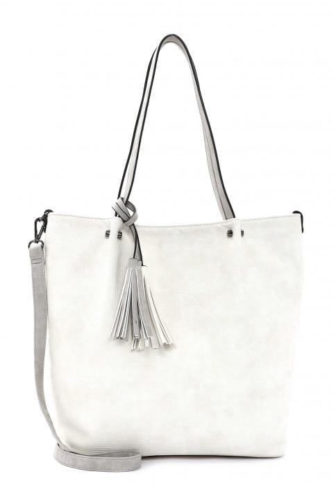 EMILY & NOAH Shopper Bag in Bag Surprise groß Beige 331328 ecru lightgrey 328