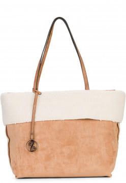 EMILY & NOAH Shopper Shona Beige 61933420 sand 420