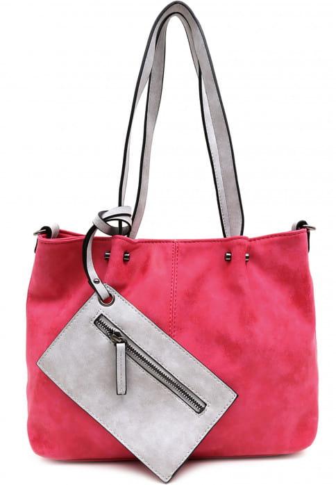 EMILY & NOAH Shopper Bag in Bag Surprise Pink 299678-1790 pink grey 678