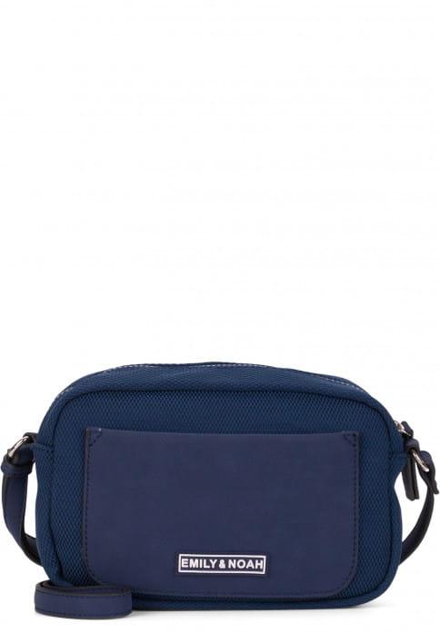 EMILY & NOAH Handtasche mit Reißverschluss Lena klein Blau 62071500 blue 500