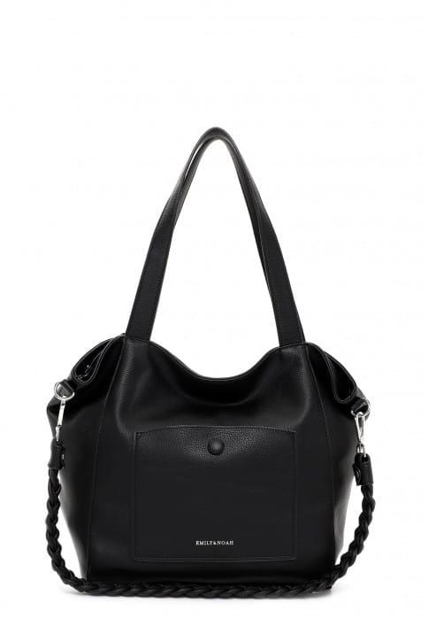 EMILY & NOAH Shopper Fiorella groß Schwarz 62945100 black 100