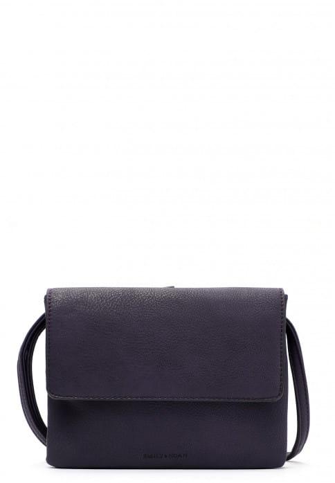 EMILY & NOAH Handtasche mit Überschlag Emma mittel Lila 61722620 purple 620
