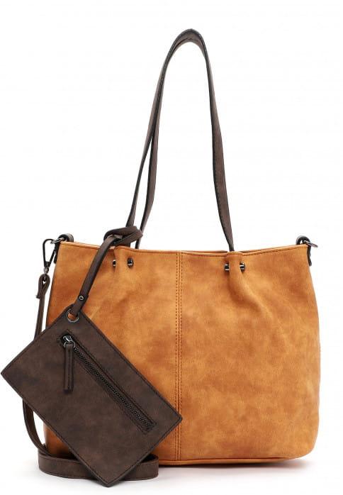EMILY & NOAH Shopper Bag in Bag Surprise Orange 299612 orange/brown 612