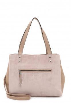 EMILY & NOAH Shopper Fabienne mittel Beige 62954420 sand 420