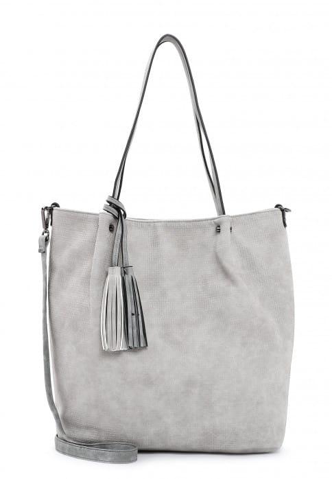 EMILY & NOAH Shopper Bag in Bag Surprise groß Grau 331818 lightgrey grey 818