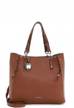 EMILY & NOAH Shopper Flora mittel Braun 63004700 cognac 700