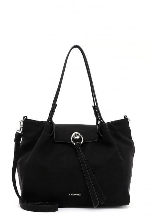 EMILY & NOAH Shopper Elina mittel Schwarz 62774100 black 100
