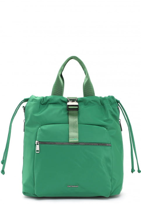 EMILY & NOAH Rucksack Suza-Nylon groß Grün 61941930 green 930