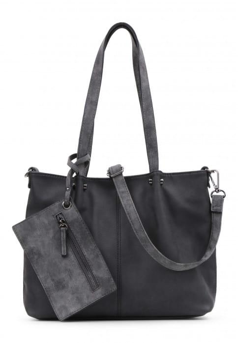 EMILY & NOAH Shopper Bag in Bag Surprise Schwarz 299108-1790 black grey 108